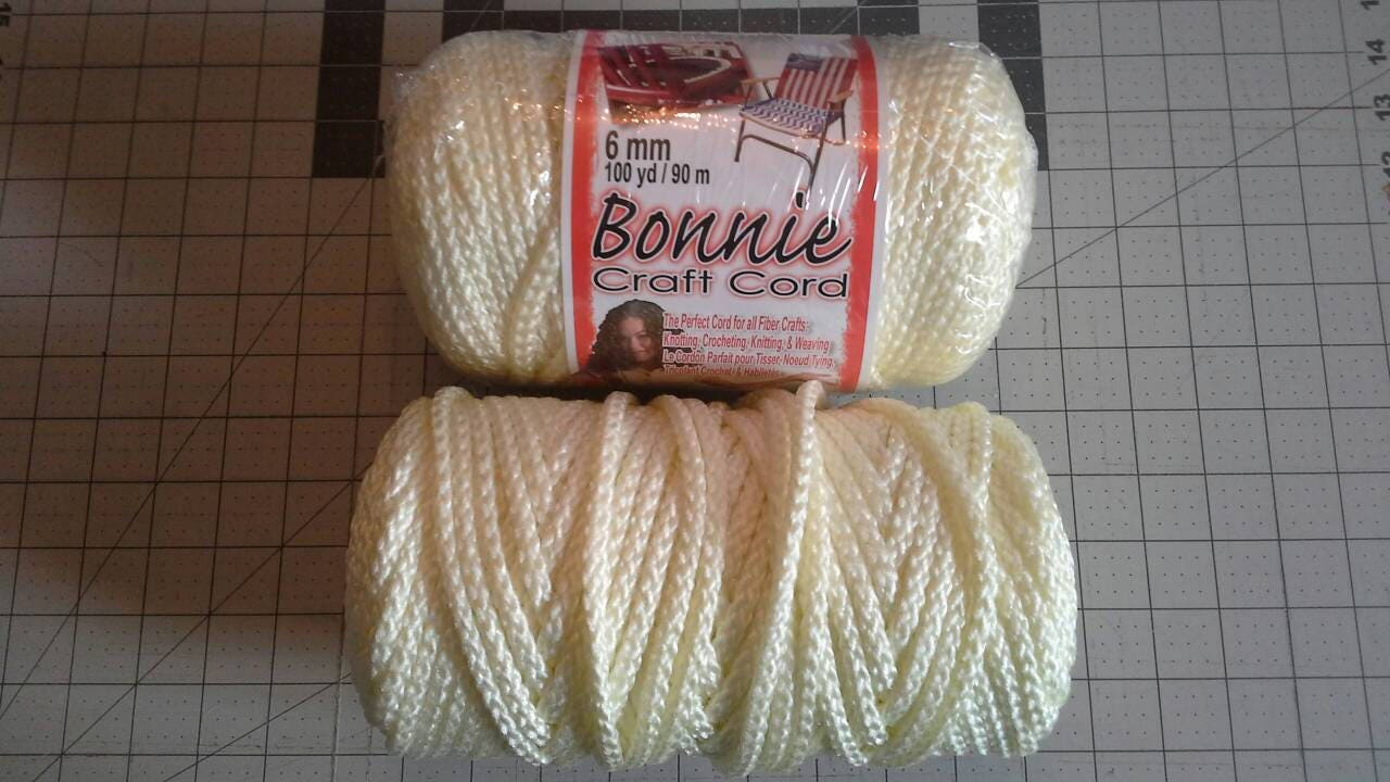 Bonnie craft cord 6mm - Sold By Debupcyclessupplies