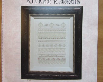 Charland Silken Ribbons Vintage Emroidery Pattern with DMC Floss