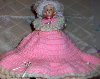 Vintage Doll, Sleepy Eyes, 1950s, Hard Plastic - E3