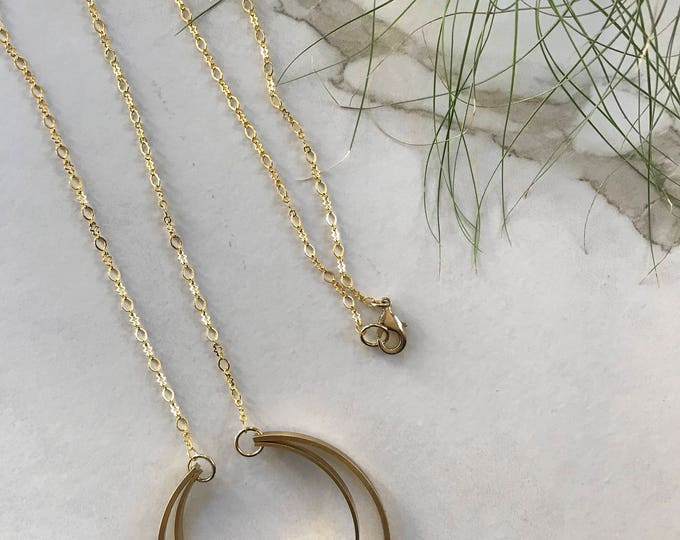 Featured listing image: Crescent Moon Pendant