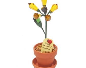 "18th Crystal ""sunflower"" Anniversary"