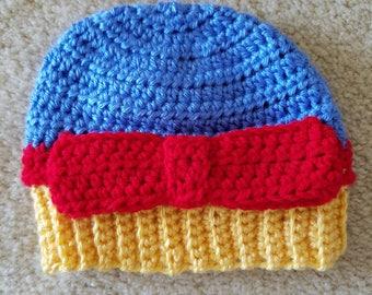 Snow White Baby Hat