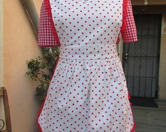 Buffy 'Fear, Itself' Red Riding Hood inspired Cosplay Dress and Apron