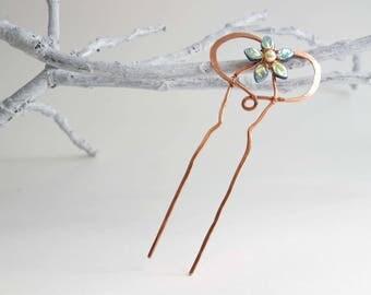 Fairytale Flower Hair Fork