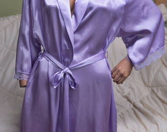 Jones New York Lilac Robe  XL #390