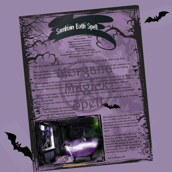 Samhain Bath Spell