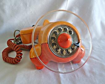 Vintage Alexander Graham Plane Telephone Rotary Dial