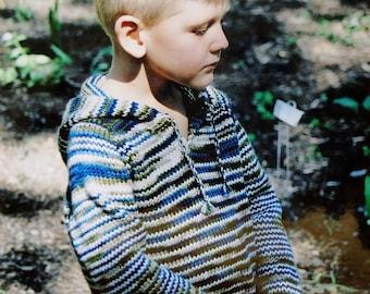 Knitting Pattern | Knitting Pure & Simple | CHILDRENS TUNIC | Sweater | Handknitting | Hand Knit | Knit Sweater | Kids | Children