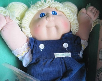 1985 Cabbage Patch Kid Vintage CPK doll Collectible Doll Retro Doll Karema Jayme