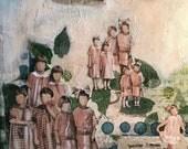 Mixed Media Art, Original Art, Differences, Children