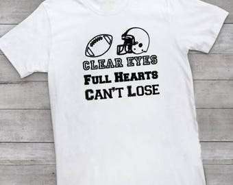 SVG - Clear Eyes Full Hearts Can't Lose - Football file - Digital file - INSTANT DOWNLOAD - svg, png, pdf, silhouette