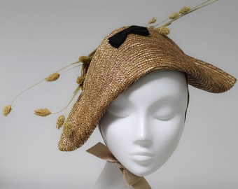The Algebra Hat - Straw Hat