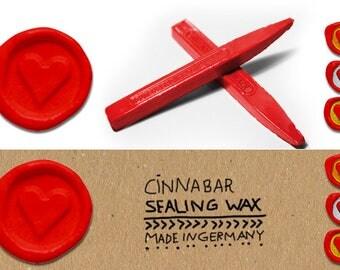 Sealing wax cinnabar, Sealing wax shellac, Sealing wax for Christmas, Sealing wax shiny, Shellack Sealing wax, Red Sealing Wax