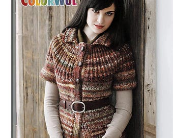 True Colors 9 designs to Knit and Crochet Pattern Booklet Patons 501004