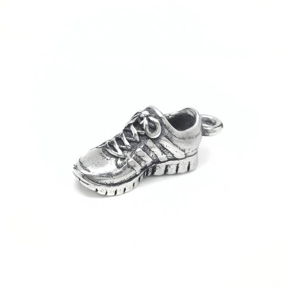 Running Shoe / Sneaker Pendant - Add a Charm to a Custom Charm Bracelets, Necklaces or Key Chains -  Nickel Free Charms