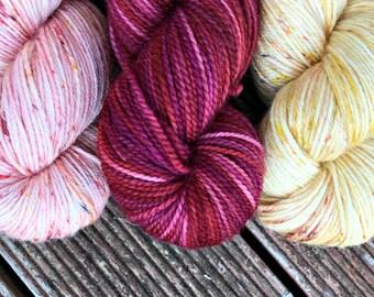 Cordial hand dyed Australian 4ply sock yarn