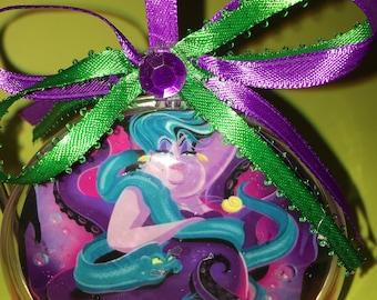 Disney villain  Ursula themed ornament