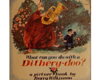 childrens picture book What Can You Do With a Dithery Doo by Barry Wilkinson, be yourself, acceptance, be true to you, diversity, tolerance