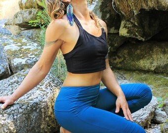 Victory Leggings-womens clothing-sexy leggings-biking leggings-edgy clothing-industrial boho clothes-dance clothes-wholesale leggings-blue