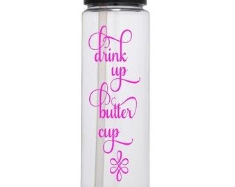 Water Bottle Tracker Drink Up Butter Cup