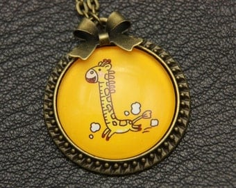 Necklace little girafe kids child