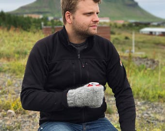 Heiðrún Beverage Mittens - Made with 100% Icelandic Wool