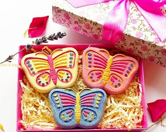 Butterfly Bath Bomb Gift Box