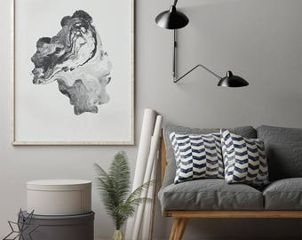 Abstract Texture Print, Scandinavian Print, Digital Download Large Downloadable Poster, Instant Download, Minimal Design Print