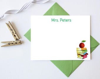 Personalized Teacher Gift | Personalized Teacher Stationary | Teacher Stationery | Back to School Gifts | Teacher Notecards | Teacher Gifts