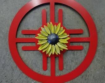 Wichita Symbol with Sunflower