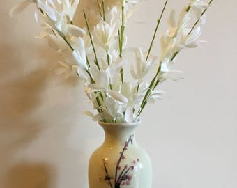 Cherry Blossom Vase (With Flowers)