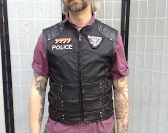 SciFi Police Vest, Blade Runner, The Expanse, Tac Vest, Fallout, Body Armor Costume