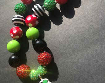 Back to School Chunky Necklace