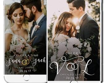 Wedding Snapchat Geofilter, Classy Wedding Snapchat Filter, Custom Snapchat Geofilter, Wedding Day Geofilter Classic Beautiful
