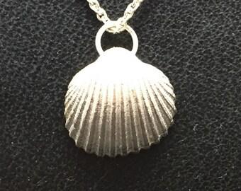 SeaShell pendant - Silver Shell - Nature Jewelry
