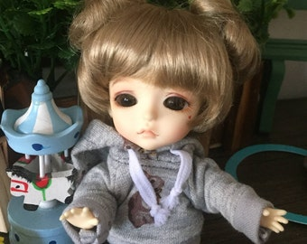 bjd doll short wig for lati yellow pukifee (2 colors)