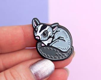 Sugar Glider - enamel pin - cute lapel pin