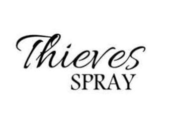 Thieves Spray SVG PNG Digital Download