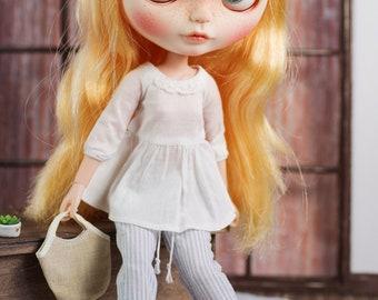 Blythe/Momoko - Vintage Stripe Pant