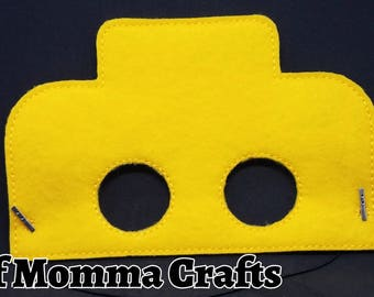 Block Builder Childs Felt Mask