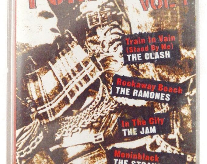 Vintage 80s The Best of Punk Rock Vol. 1 Compilation Album Cassette Tape