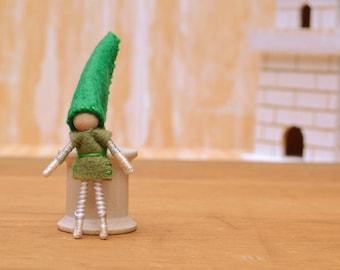 Boy Elf Doll - felt elf doll, boy fairy doll, boy fairies, felt fairy doll, felt fairies, waldorf fairy doll, waldorf fairies, felt waldorf