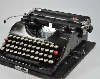 black typewriter etsy. Black Bedroom Furniture Sets. Home Design Ideas