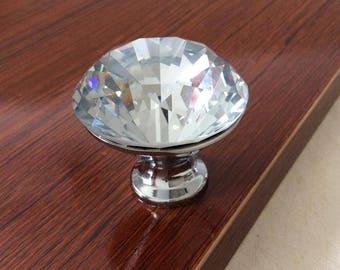 Crystal Drawer Knobs / Dresser Pulls Handles / Cabinet Knob Furniture  Decorative Knobs Hardware Glass Knobs