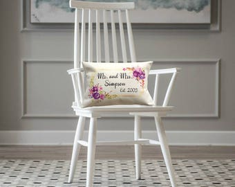 Engagement Gifts   Wedding Gift   Personalized Throw Pillow   Gift for Her   Housewarming Gifts    Gifts for Wife