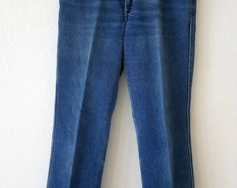 Levi Jeans Denim 70s Blue Tab American Made USA 32x32