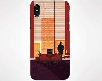 Mad Men Television Phone Case for iPhone and Samsung, iPhone X, 8, 7, 6, 6s, Plus, 5s, 5c, Samsung, S8
