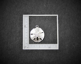 Sand Dollar Sterling Silver Charm from StoryTeller Charms 234