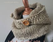 Autumn Hooded Cowl Pattern