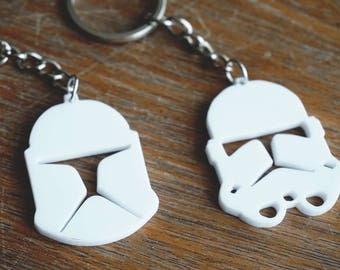 Clone Trooper Keychains (Phase 1 & 2) - Star Wars